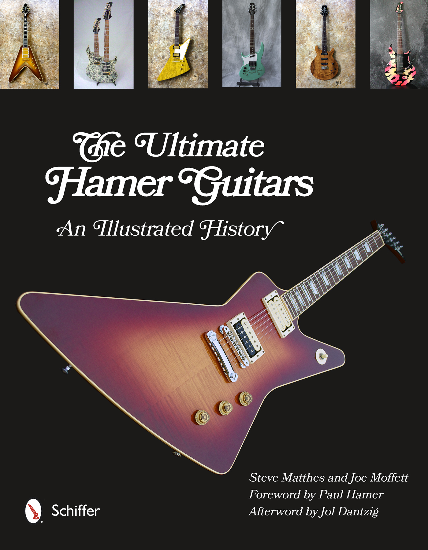 Illustrated Book Cover Guitar : The ultimate hamer usa guitar archive